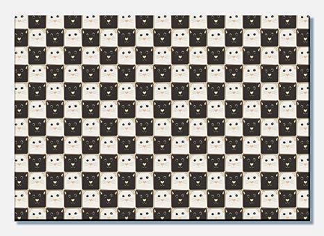 wandmotiv24 Cuadro de Lienzo Tablero de ajedrez Hecho de ...