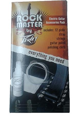 Peavey Rock Master guitarra eléctrica Pack de accesorios: Amazon.es: Instrumentos musicales