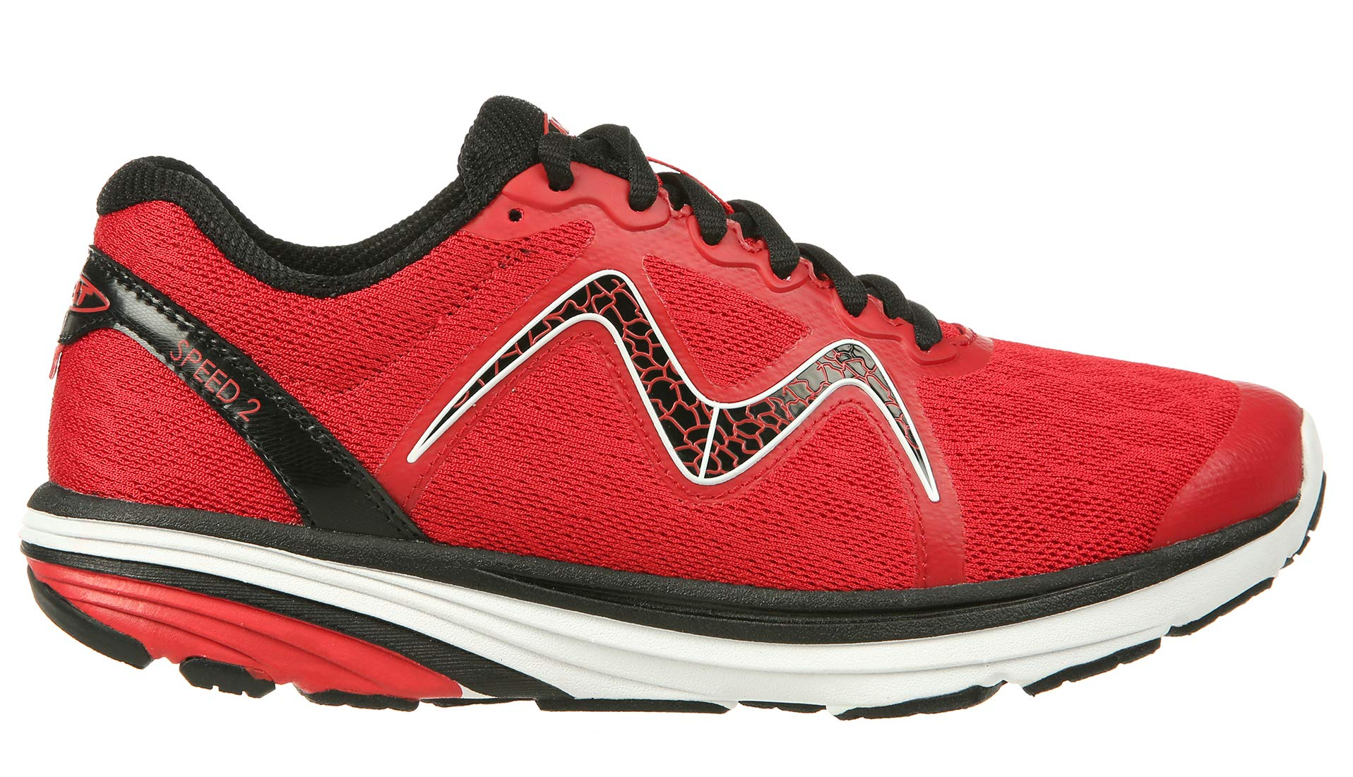 MBT Shoes Men's Speed 2 Athletic Shoe: Chili/Red 12 Medium (D) Lace by MBT