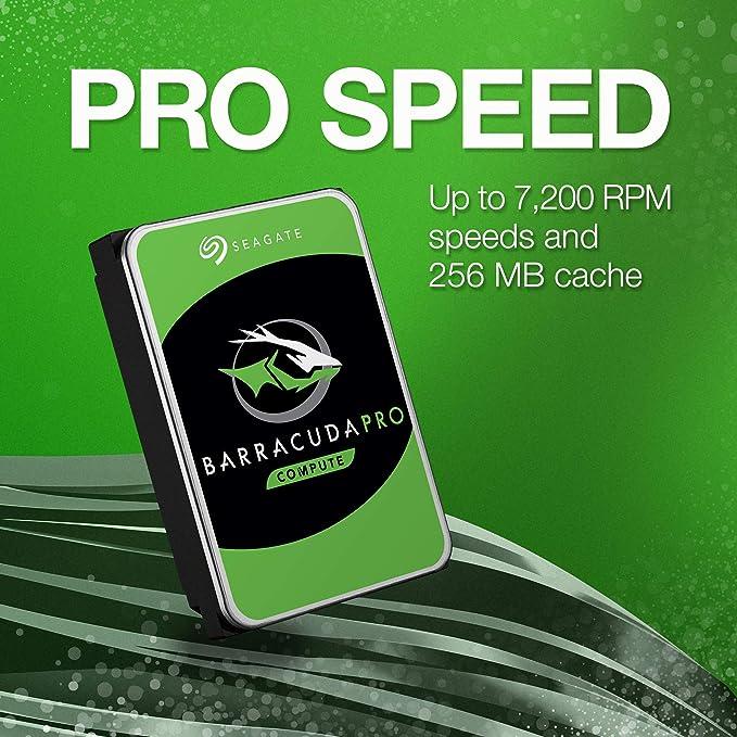 Seagate Barracuda Pro Interne Festplatte 10 Tb 3 5 Computer Zubehör
