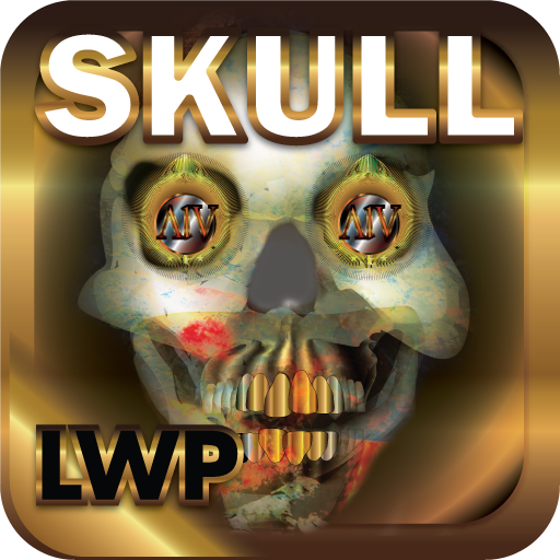 Skull Fire LWP HD+ Halloween Live Wallpaper