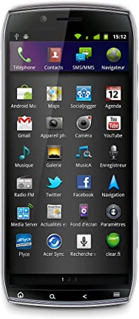 Acer Iconia Smart S300 Plata - Smartphone (SIM única, Android ...