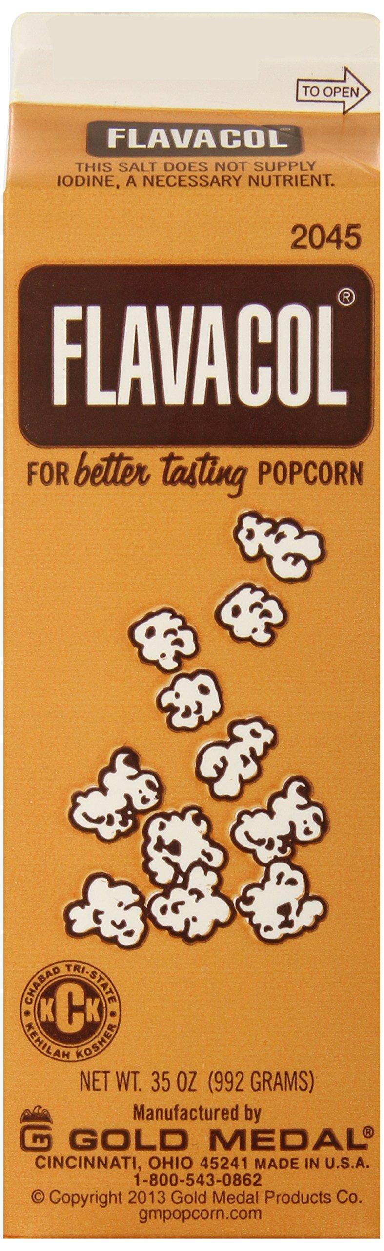 Gold Medal Prod. 2045 Flavacol Seasoning Popcorn Salt 35oz. by Gold Medal Prod.