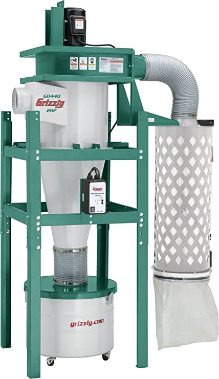 grizzly g0440 cyclone dust collector amazon co uk diy tools