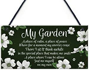 Garden Of Weeden Funny Novelty Garden Shed Home Decor Plaques Friendship Gifts