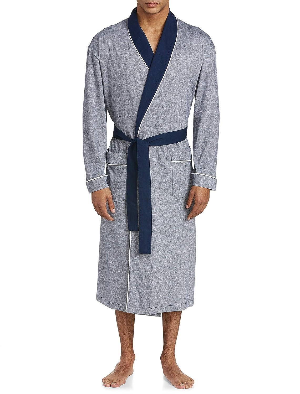 Majestic Big and Tall Shawl-Collar Knit Robe