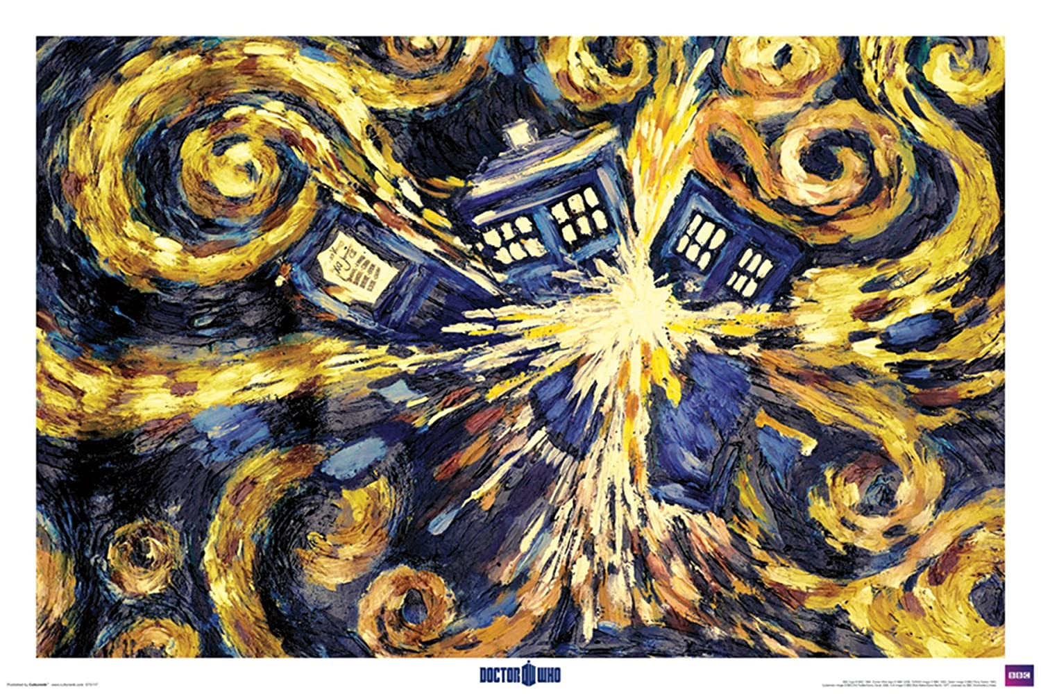 Amazon.com: Trends International Dr. Who Wall Poster 22.375\