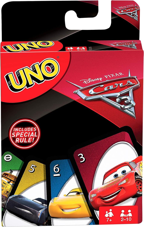 Juegos Mattel-Cars Uno, Juego de Cartas (FDJ15): Amazon.es: Juguetes y juegos