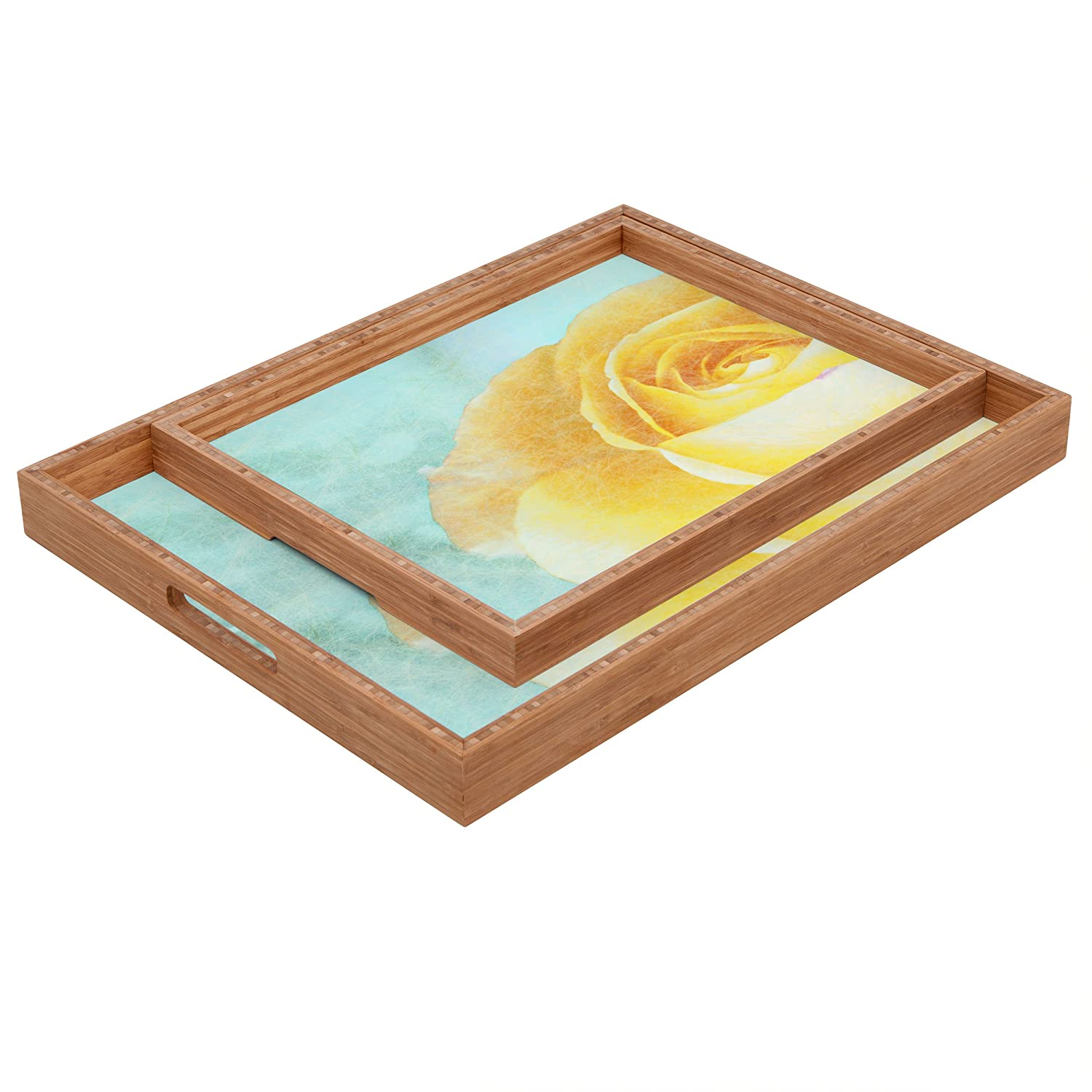 17 x 22.5 Deny Designs Jacqueline Maldonado Fever Dream Indoor//Outdoor Rectangular Tray