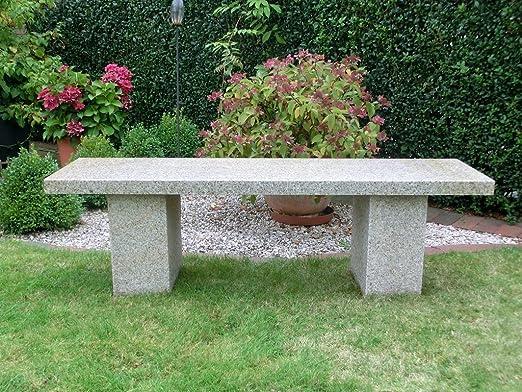 piedra natural piedra Banco de jardín muebles de jardín banco Granito * Aruba *: Amazon.es: Jardín