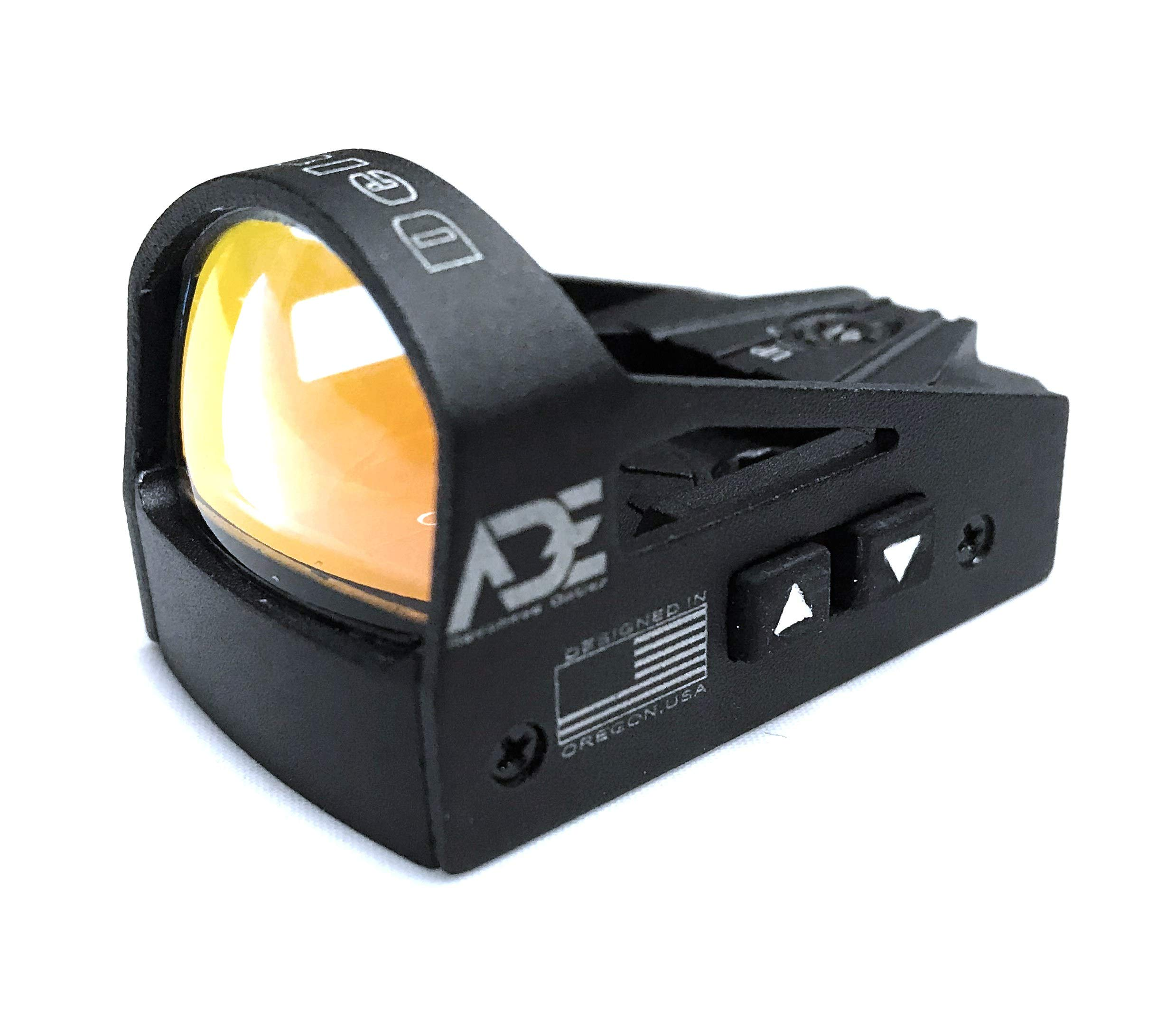 Ade Advanced Optics Delta RD3-012 Red Dot Reflex Sight with Colt 1911 Standard Pistol mounting Plate by Ade Advanced Optics