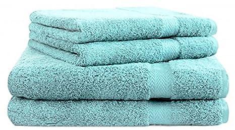 BETZ Juego de 4 Toallas Premium 100% algodón 2 Toallas de baño 2 Toallas de