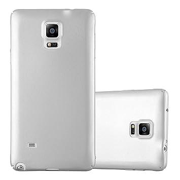 Cadorabo Funda para Samsung Galaxy Note 4 en Metal Plato - Cubierta Protección de Plástico Duro Super Delgada e Inflexible con Antichoque - Case Cover ...