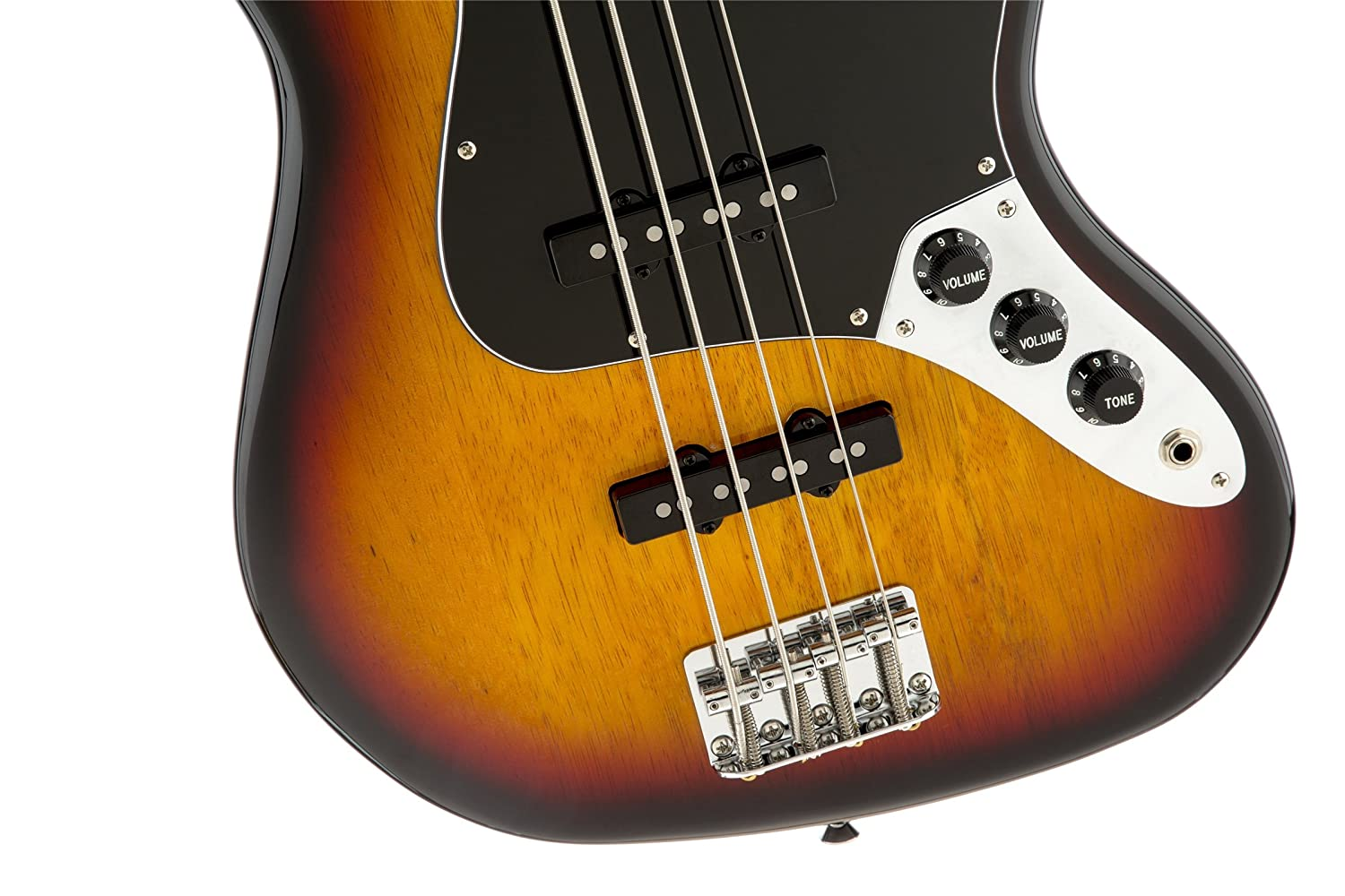 Squier By Fender 307702520 Vintage Modified Jazz Bass More Guitar Wiring 101 300guitarscom 77 Amber Musical Instruments