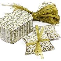 Caja de regalo Candy de papel Kraft, caja