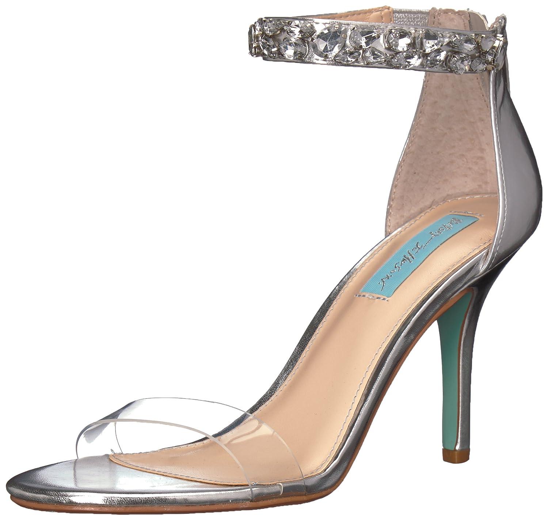 【最安値に挑戦】 [Betsey Johnson] Blue by by Women's B(M) SB-Drew Heeled Sandal, US [並行輸入品] B0757FQMTX 8 B(M) US|Silver/Metallic Silver/Metallic 8 B(M) US, ルシェルシュ:8bd7c199 --- arianechie.dominiotemporario.com