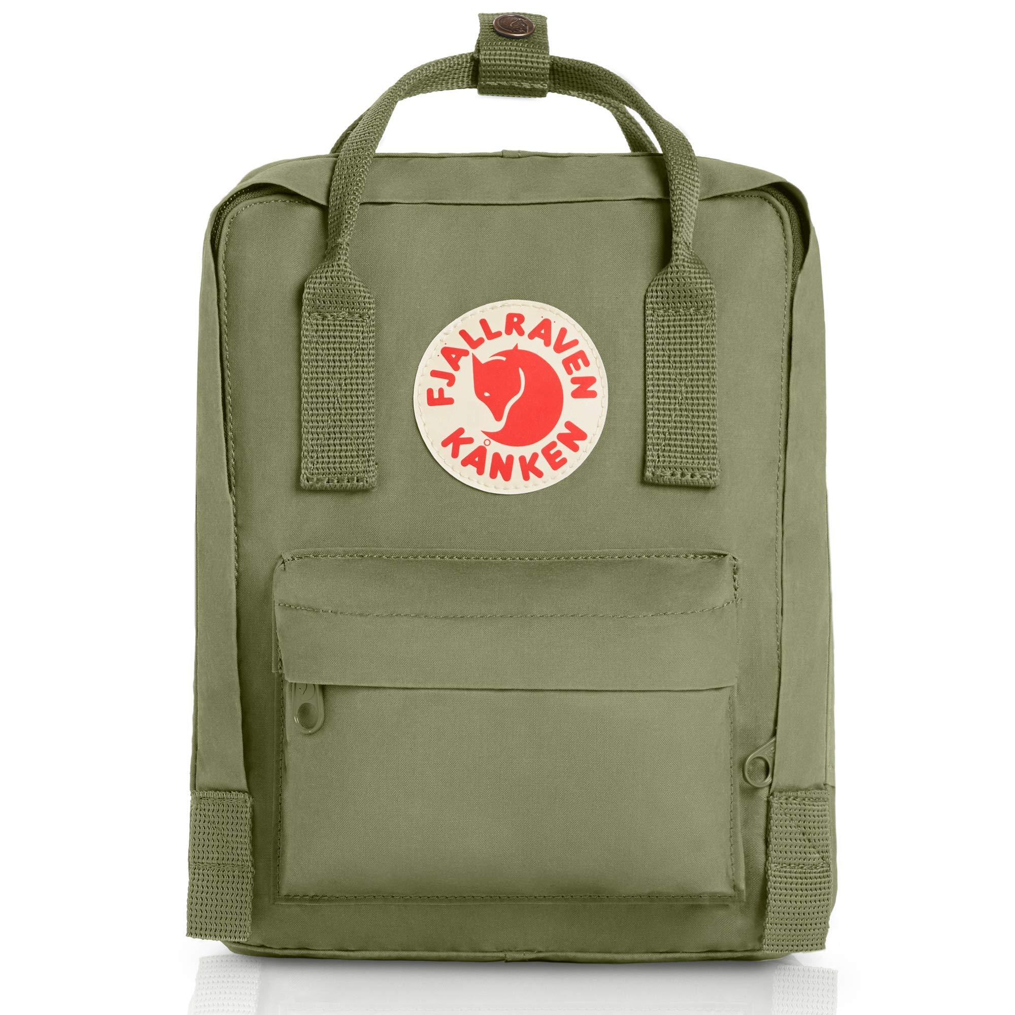 Fjallraven - Kanken Mini Classic Backpack for Everyday, Green by Fjallraven
