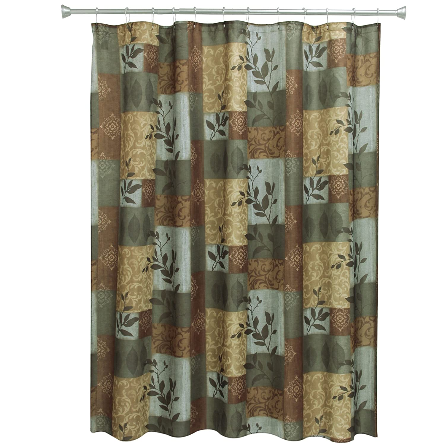Amazon.com: Bacova Guild Shower Curtain, Autumn Leaves: Home & Kitchen