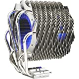 Thermaltake CL-P0466 SpinQ Quiet Copper Heatpipe Univrsal CPU Cooler with Blue LED for Intel LGA 775 and AMD AM2