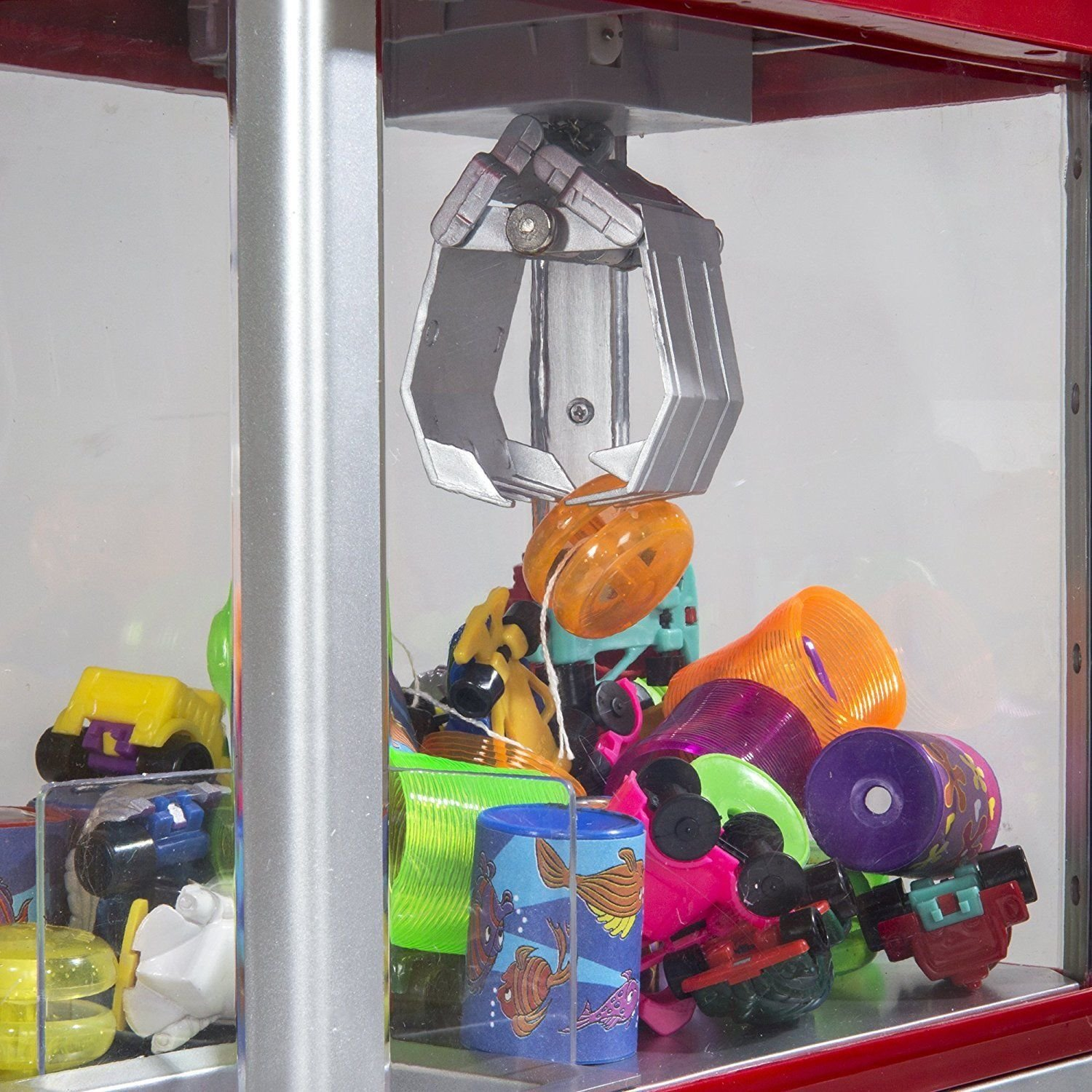 Alek...Shop Carnival Claw Game Electronic Home Arcade Toy Grabber Crane Machine Features And Exciting by Alek...Shop (Image #4)