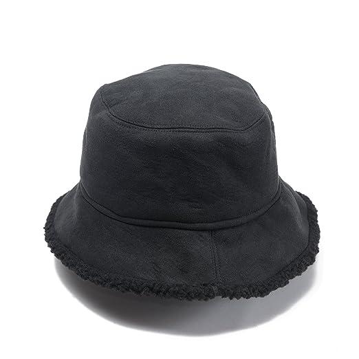 Free Spirit Faux Fur Shearling Bucket Hat for Women   Girls - Lightweight    Versatile for 27199281f82