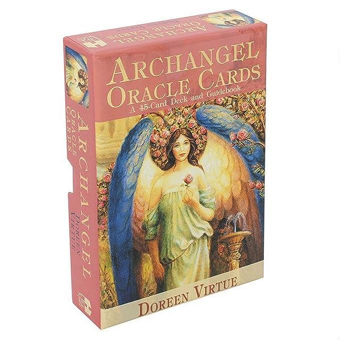 Doreen Virtue - Cartas de oráculo arcángel (Talla Única ...