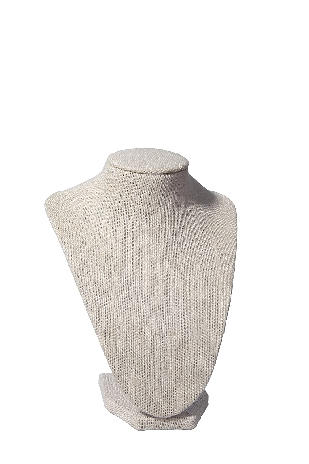 Juvale Female Fashion Jewelry Headless Mannequin Bust Display Arts & Crafts 7L X 8.5H inches Manikins