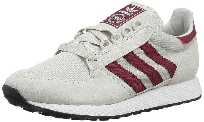 adidas Forest Grove Schuhe Herren weiß (Pertiz) mit roten Streifen