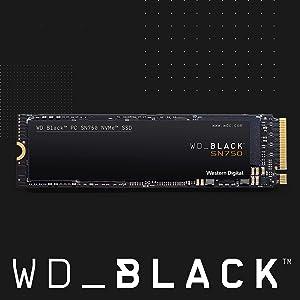 WD_Black SN750 2TB NVMe Internal Gaming SSD - Gen3 PCIe, M.2 2280, 3D NAND - WDS200T3X0C