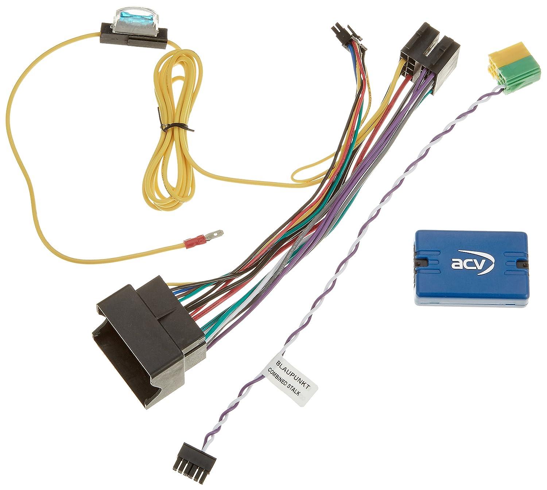 Blaupunkt ACV 42/ /511/Steering Wheel Remote Control Adaptor Quadlock LFB Peugeot 206/+ 2011-  on /PG/