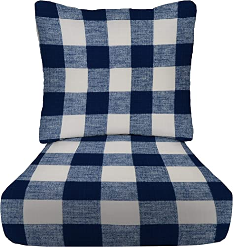 RSH D cor Indoor Outdoor Deep Seating Cushion Set - the best outdoor chair cushion for the money