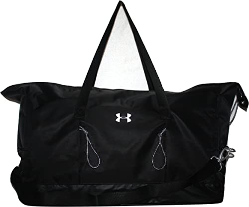 Under Armour Womens UA Reflect Duffel Bag Storm1 Black Medium