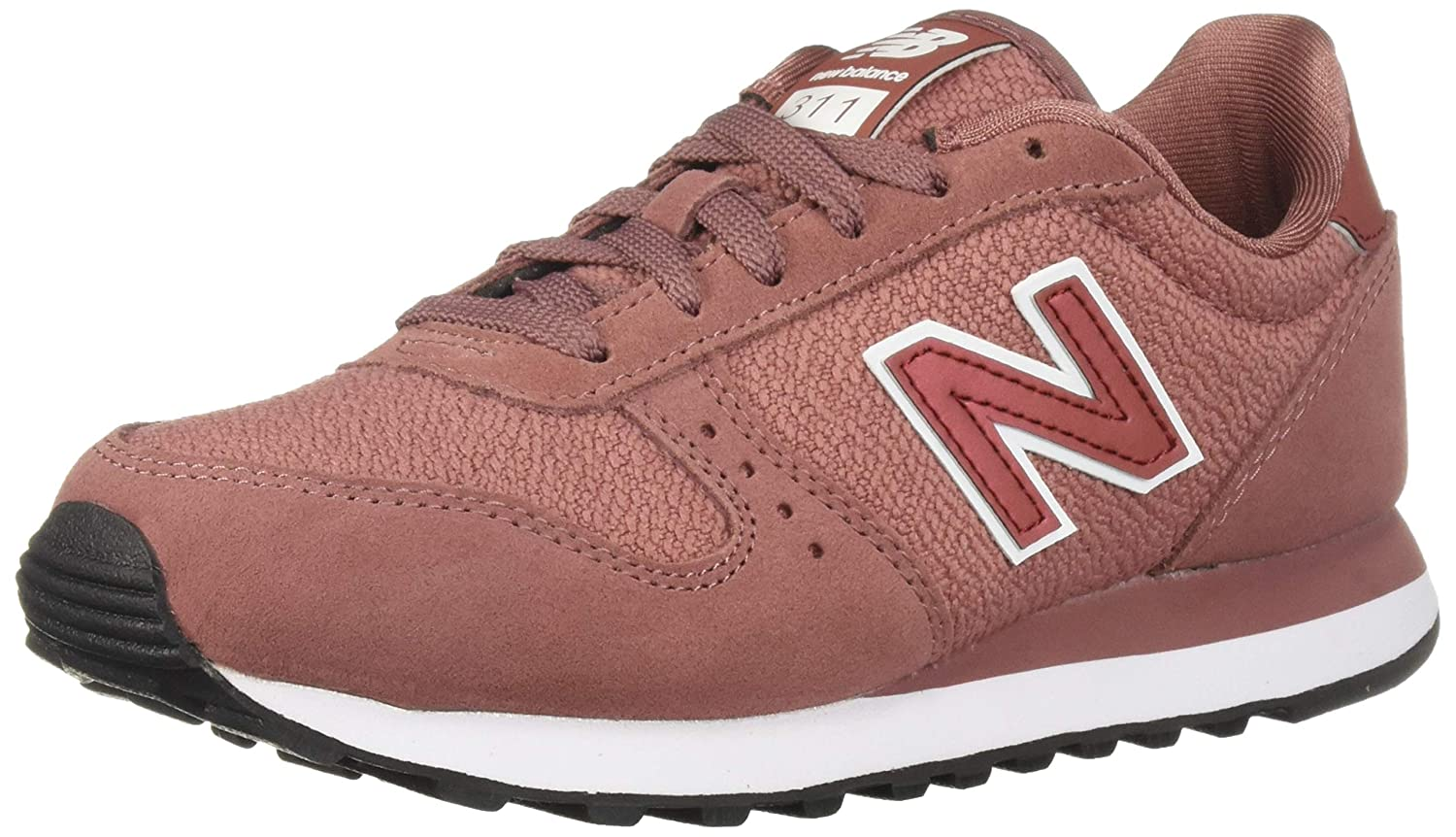 40162698f081e New Balance Women's 311v1 Sneaker Dark Oxide/White 5 D US