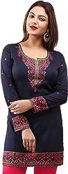 Women Fashion Pakistani Indian Kurti Tunic Kurta Top Shirt Dress 163A