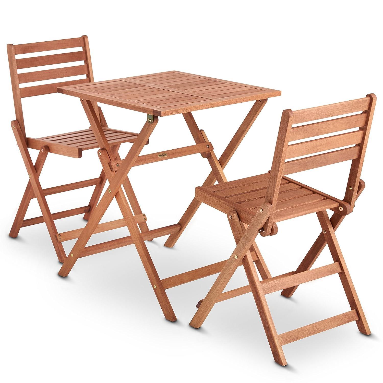 holztisch outdoor stunning vonhaus holztisch und. Black Bedroom Furniture Sets. Home Design Ideas