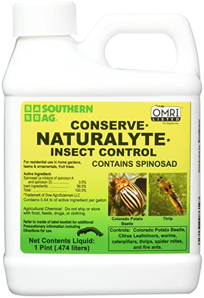 Southern Ag 08612 Conserve Naturalyte Insect Control Insecticide, 16oz