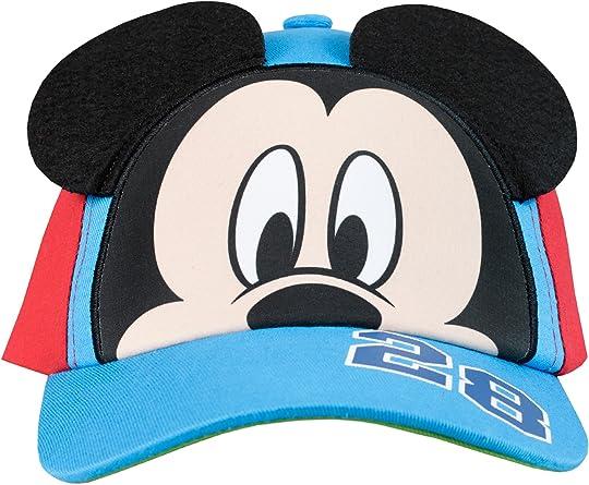 Disney Gorra para niño Mickey Mouse Talla única: Amazon.es: Ropa y ...