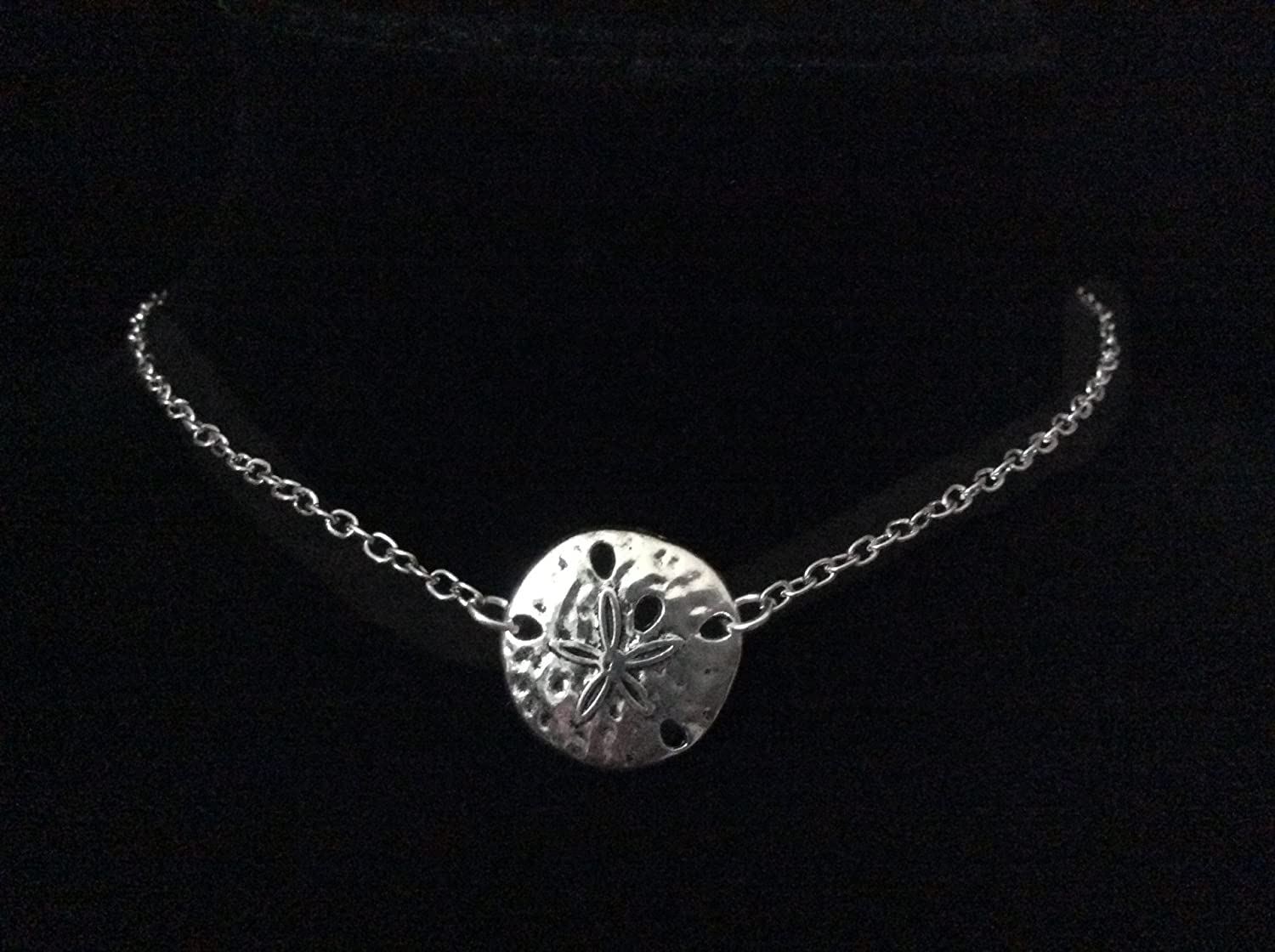 25 mm Sterling Silver 925 Sand Dollar Pendant Jewels Obsession Sand Dollar Pendant