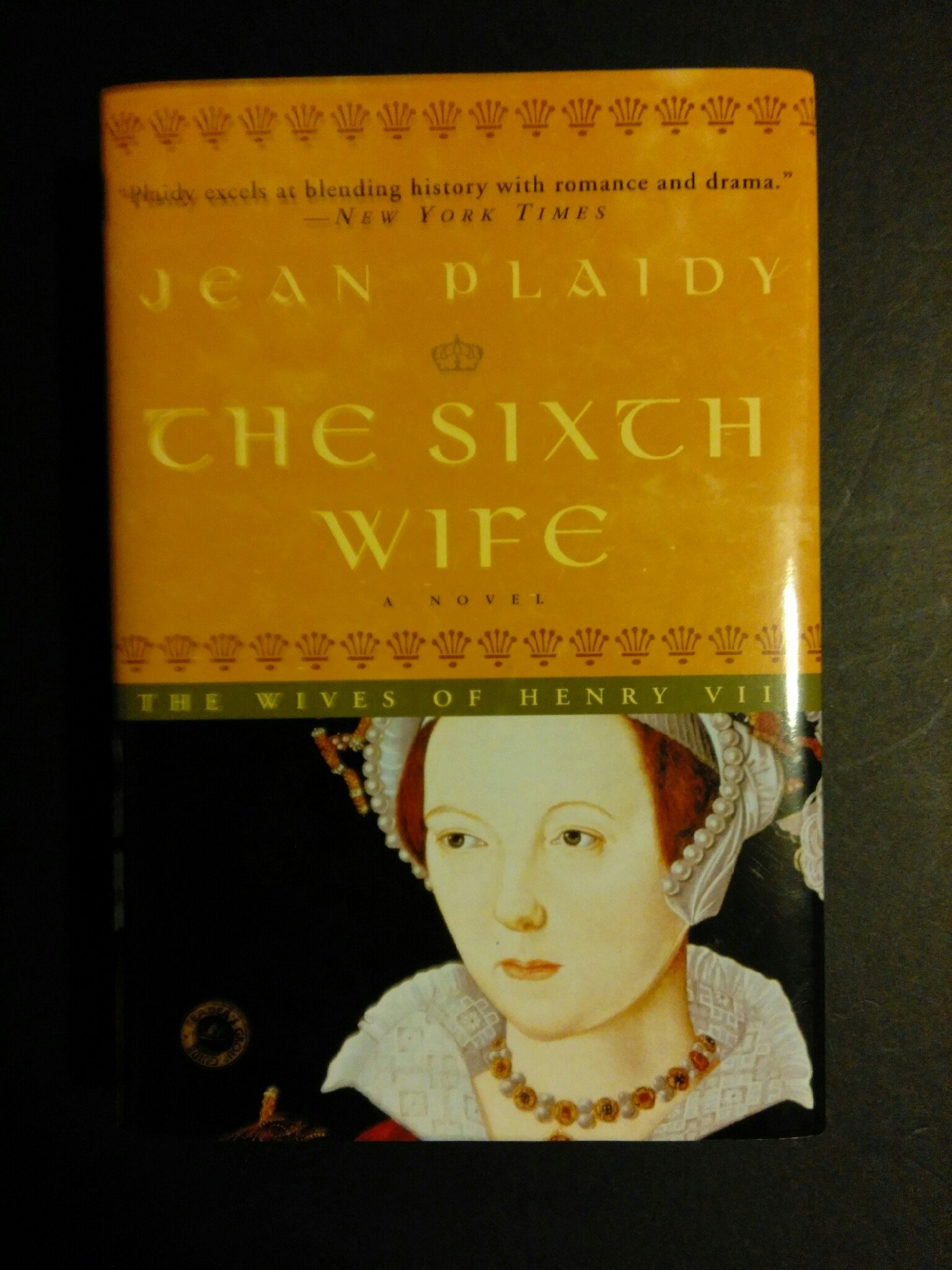 The Sixth Wife: A Novel (The Wives of Henry VIII)--Large Print PDF