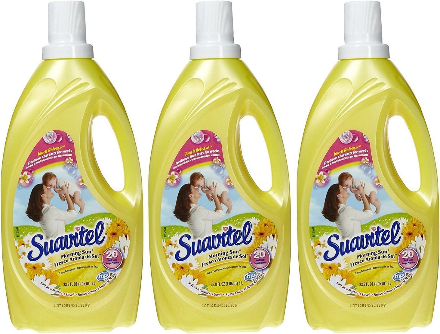 Suavitel Liquid Fabric Softener - Morning Sun - 33.8 oz - 3 pk