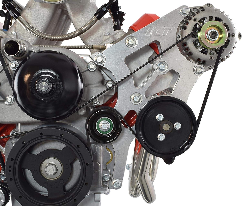 Amazon.com: ICT Billet LS Swap Alternator and Power Steering Bracket Kit  Corvette Compatible with BMW 330i E46 LS1 LS3 LSX 4.8L 5.3L 6.0L 551796-1:  AutomotiveAmazon.com