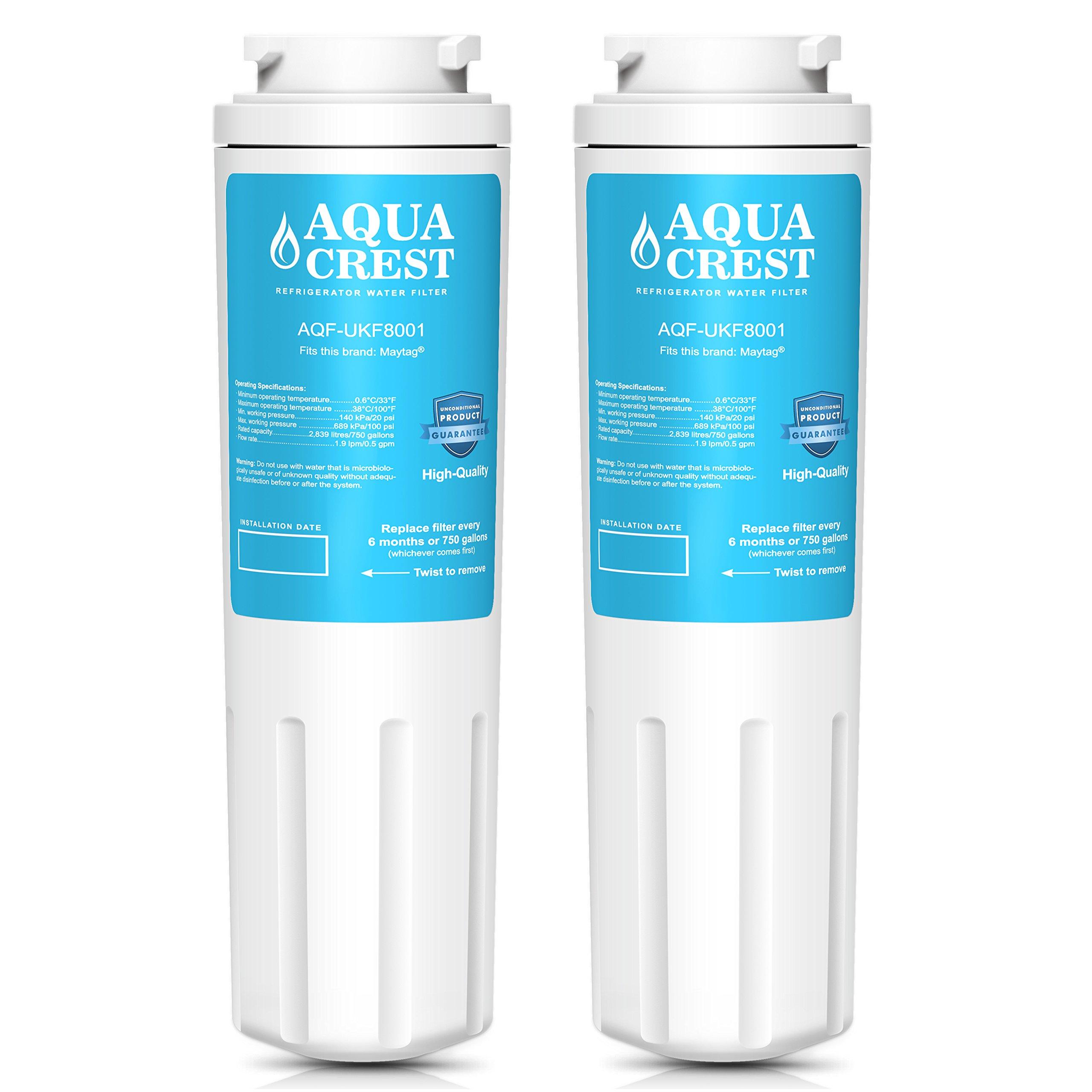 9013af1f94d AquaCrest UKF8001 Refrigerator Water Filter Replacement Maytag UKF8001  UKF8001AXX UKF8001P