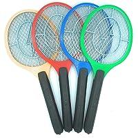 Elektrisch racket, oplaadbaar, voor muggen, vliegen, insecten, thuis en op de camping