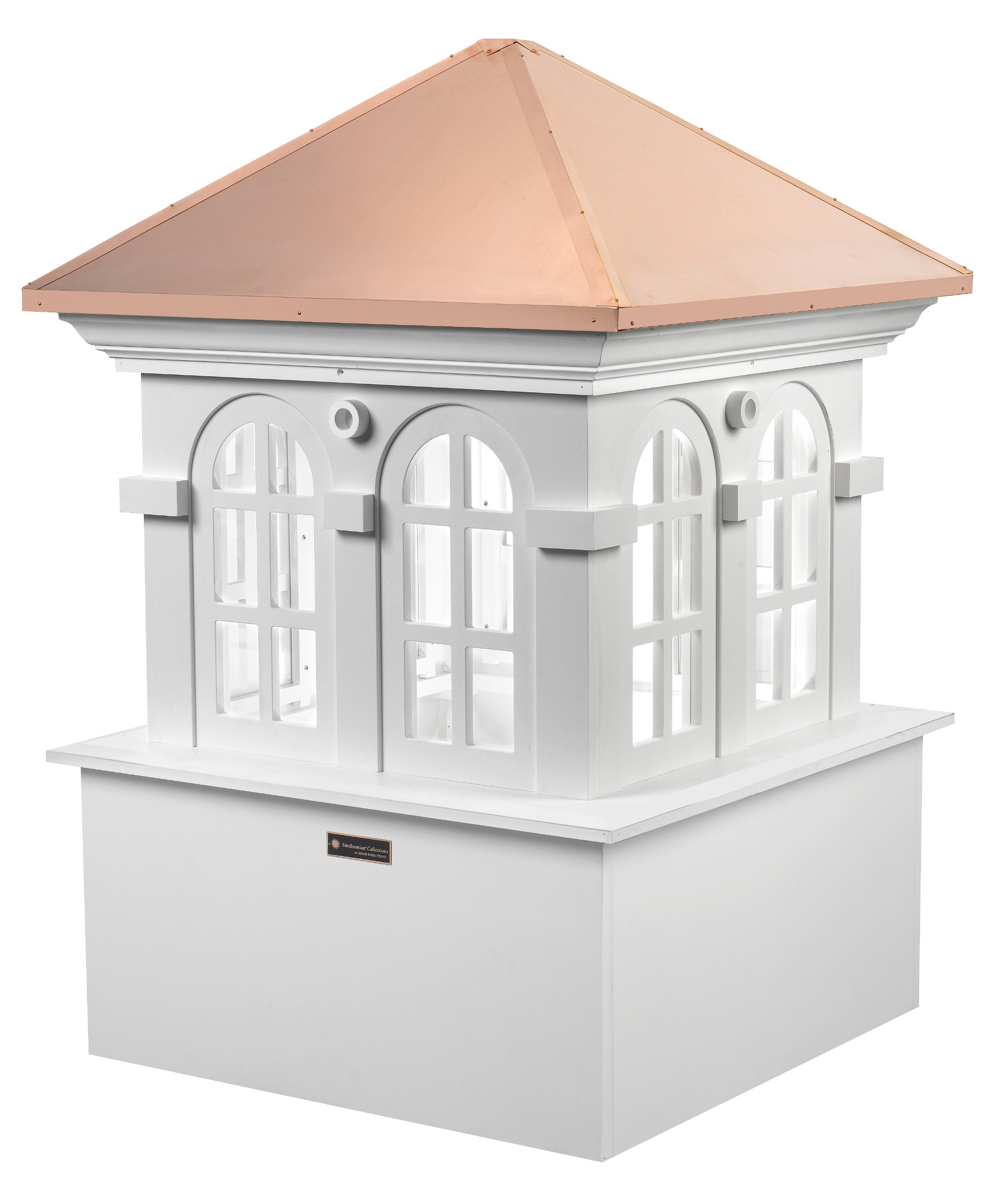 Good Directions Smithsonian Chesapeake Vinyl Cupola with Copper Roof, 36'' x 51''