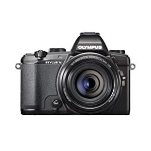 Olympus Stylus 1s Digital Camera with 10.7x Optical Image Stabilized Zoom and 3-Inch LCD