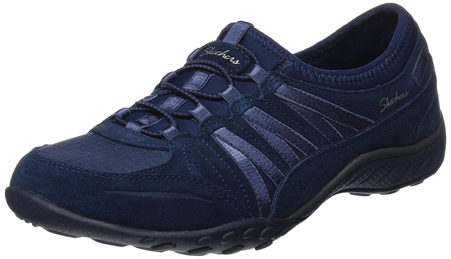 Skechers Sport Women's Relaxation Breathe Easy Moneybags Sneaker B01LZRL8CD 11 C/D US|Navy