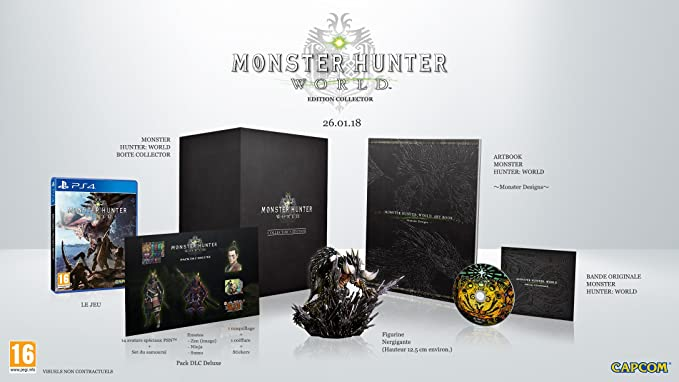 Monster Hunter World - Collector Edition: Amazon co uk: PC