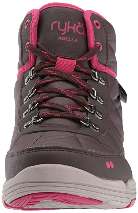 Ryka Women's Adella Fashion Boot, Black/Slate Grey/Black, 6.5 W US