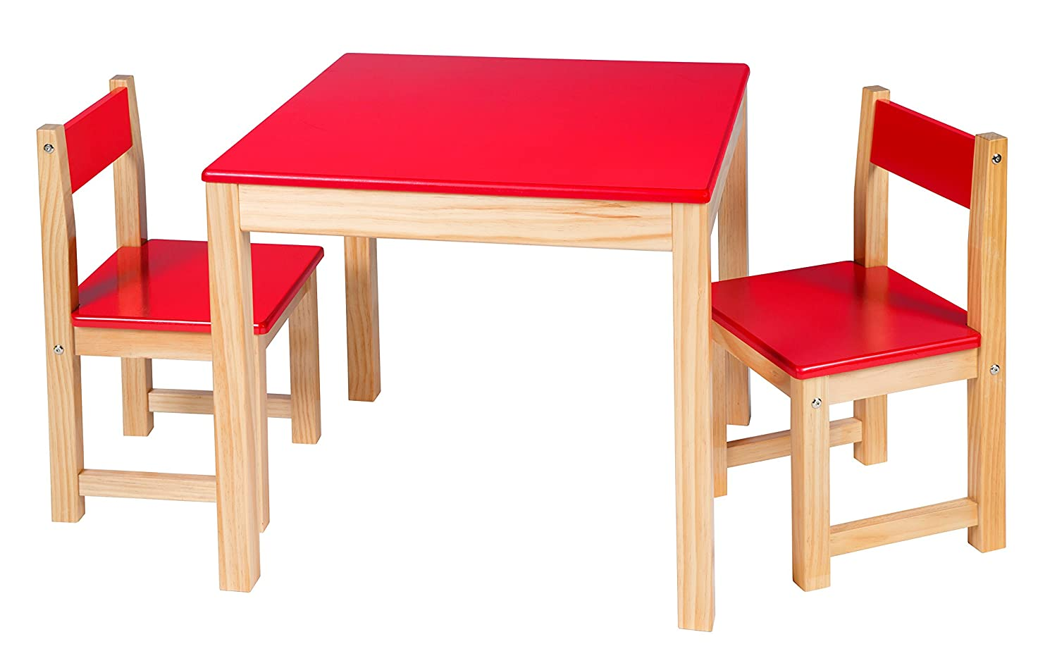 Amazon.com ALEX Toys Artist Studio Wooden Table and Chair Set Red Toys u0026 Games  sc 1 st  Amazon.com & Amazon.com: ALEX Toys Artist Studio Wooden Table and Chair Set Red ...