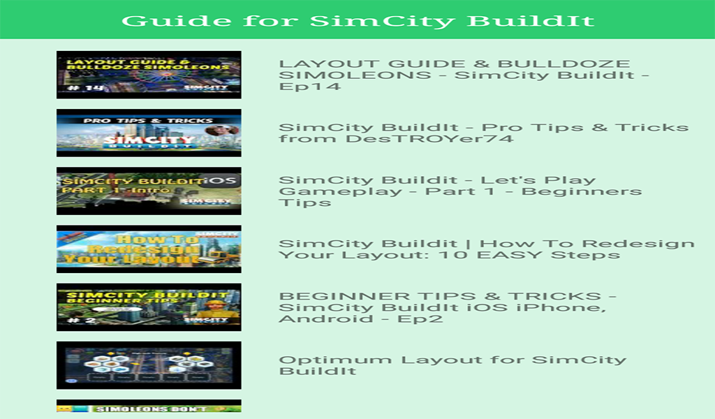 simcity buildit iphone tips and tricks